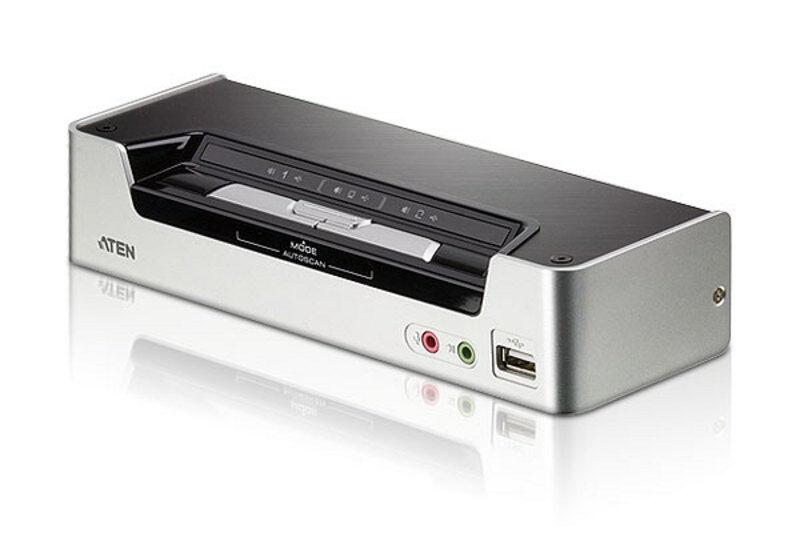 Aten Switch KVMP USB HDMI/audio a 2 porte, CS1792