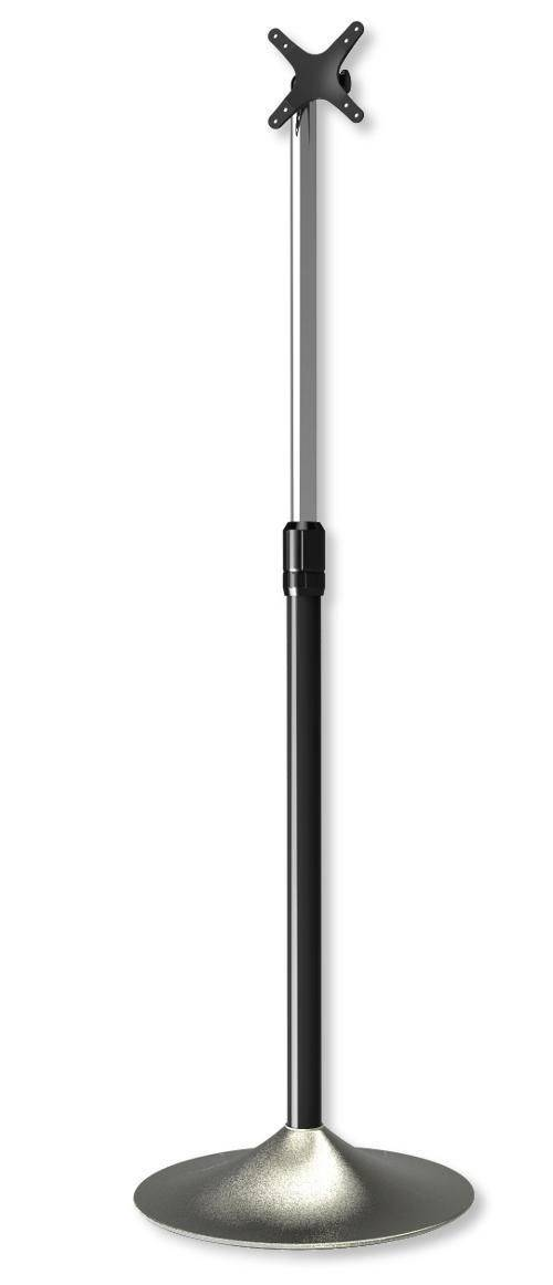 techly supporto a pavimento colonna a base circolare per tv lcd/led...