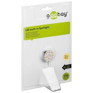 Goobay Lampada 12LED SMD G4 5050 2W 170 Lm Bianco Caldo, Classe A+