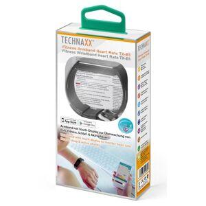 Technaxx Bracciale Fitness Bluetooth 4.0 con Cardiofrequenzimetro, TX-81