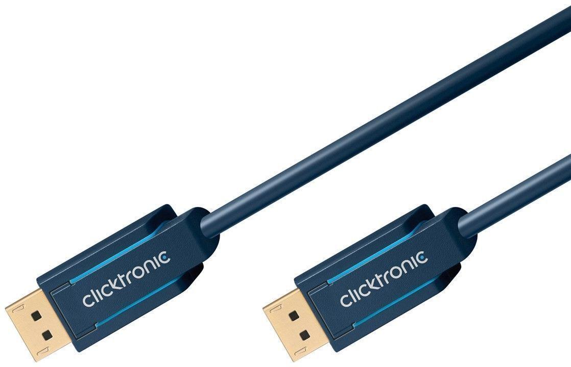 clicktronic cavo audio/video displayport m/m 10m alta qualità
