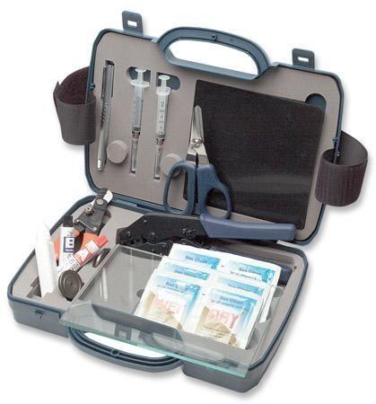 intellinet kit attrezzi per intestazione fibra ottica