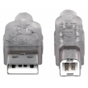 Manhattan Cavo USB 2.0 A maschio/B maschio 3 m