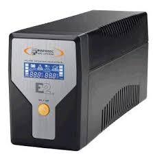 Infosec Gruppo di Continuità UPS E2 600VA LCD Line Interactive Onda...