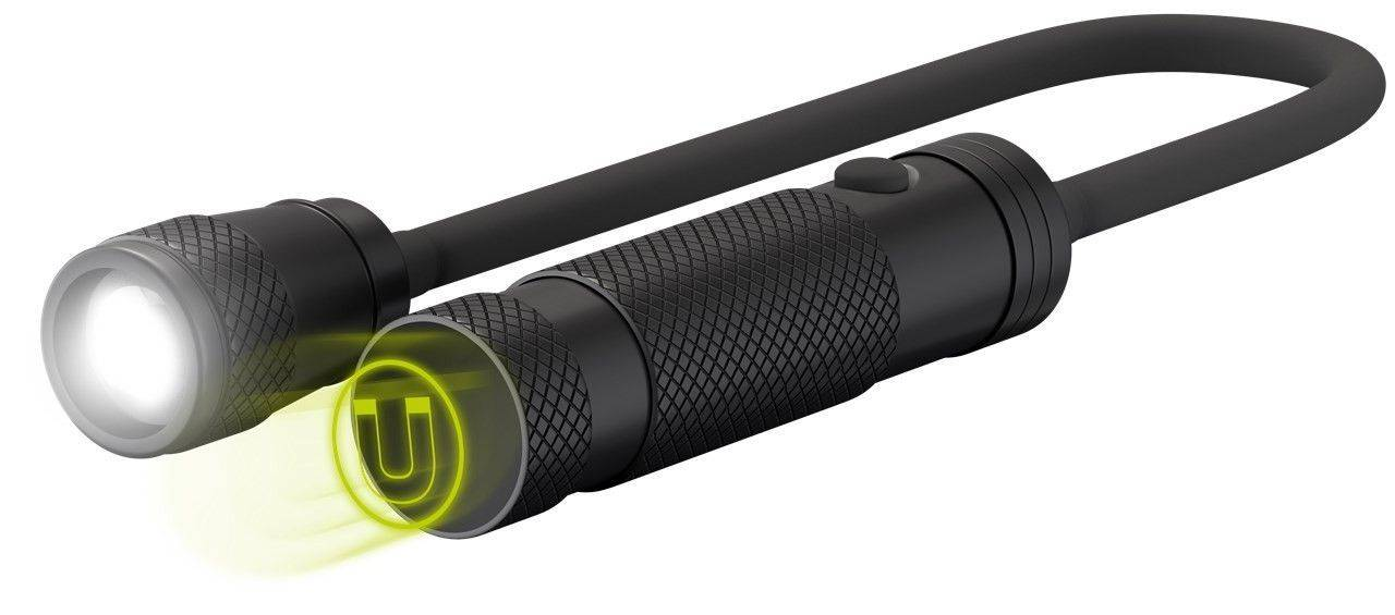 Goobay Torcia LED Flessibile 140lm IPX4 con Magnete Classe A
