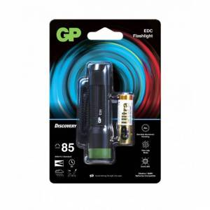 GP Batteries Torcia LED 85lm in Alluminio Anodizzato, Ibis