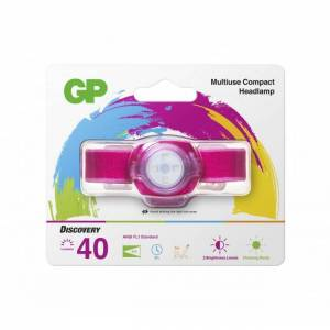 GP Batteries Lampada LED Frontale Everybody Fucsia CH31