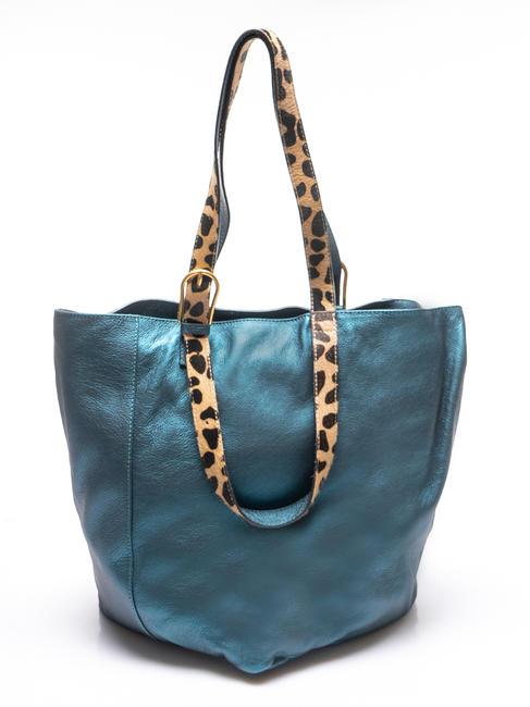 gianni chiarini double handle bag shopper in pelle