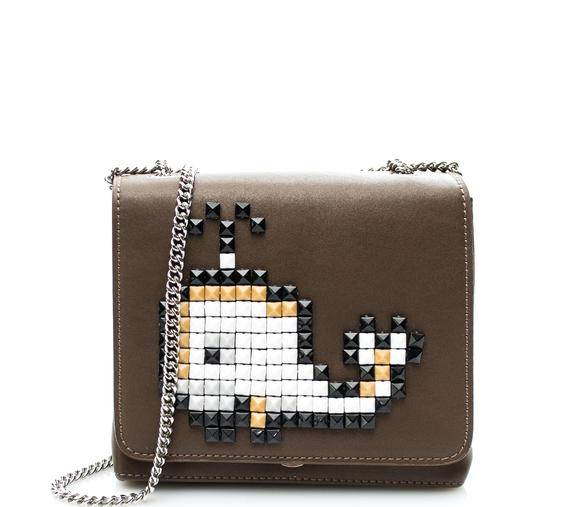 Braccialini Tua Pixel Balena Mini bag a tracolla