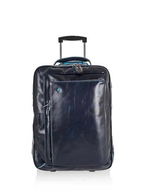 piquadro trolley linea blue square, bagaglio a mano, porta pc 15