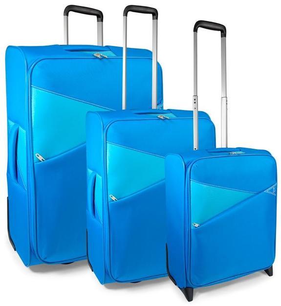 roncato modul thunder set trolley: bagaglio a mano + medio + grande