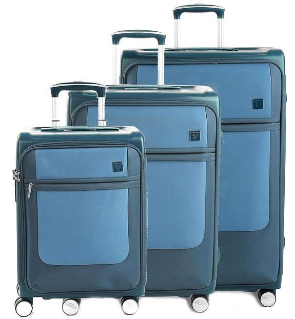 roncato new york set trolley: bagaglio a mano + medio + grande