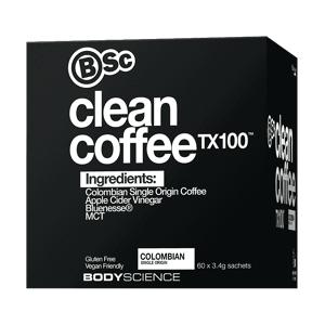 BSC Body Science BSC ( Body Science ) Clean Coffee TX100 60 Serves