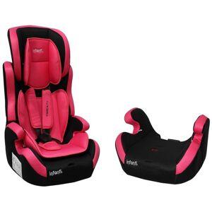 Infanti Autoasiento De Bebe Booster Infanti Shell Rosa/negro