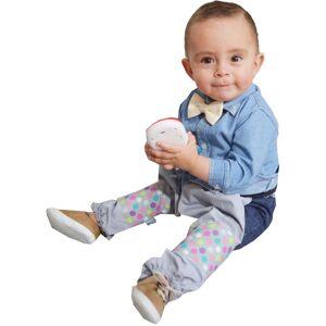 Mami Ama Bebé Protector De Pantalón Gateador Con Rodilleras Mami Ama Bebé- Gris Confeti