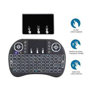 RedLemon Teclado Inalámbrico Mini Usb Con Touchpad, Para Pc, Smart Tv
