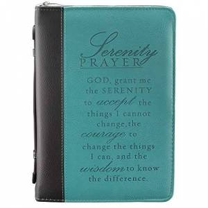 Christian Art Gifts Luxleather Serenity Prayer Large