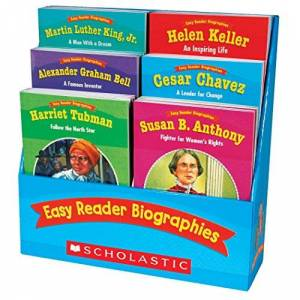 Teaching Resources, Scholastic Easy Reader Biographies: 12 Biographies That Help Students Learn to Read and Comprehend Key Features of Nonfiction