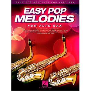 Hal Leonard Easy Pop Melodies para saxofón alto