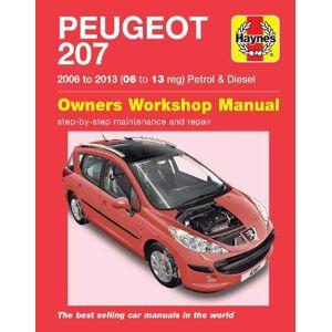 Haynes Peugeot 207 ('06 to '13) 06 to 09