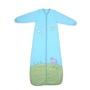 Slumbersafe Saco de dormir de invierno (manga larga, 3,5 tog, varios tamaños, desde 12 meses hasta 10 años), Turquoise, 18-36 meses