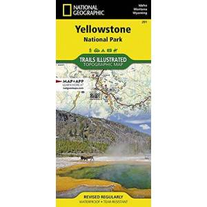 National Geographic Maps Yellowstone National Park: 201