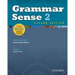 Pavlik, Cheryl Grammar Sense 2e 2 Student Book with Online Practice Access Code