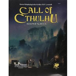 Call of Cthulhu Keeper Screen: Horror Roleplaying in the Worlds of H.P. Lovecraft