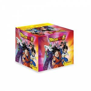 TOEI Animation Dragon Ball Super. Caja con estampas 50 sobres. 250 estampas