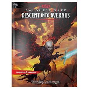 Wizards RPG Team Dungeons & Dragons Baldur's Gate: Descent Into Avernus Hardcover Book (D&d Adventure)