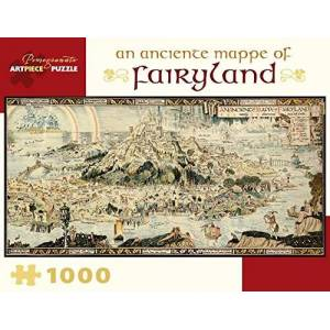 An Anciente Mappe of Fairyland 1000 Piece Jigsaw Puzzle Aa978