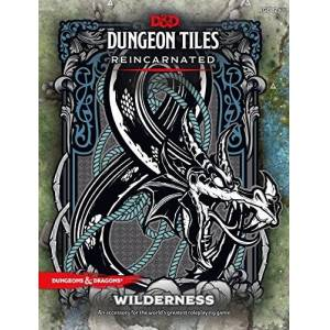 D & D Dungeon Azulejos reencarnado: Wilderness