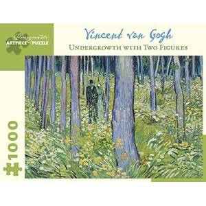 Vincent Van Gogh Undergrowth with Two Figures 1000-Piece Jigsaw Puzzle