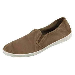 Natural world slip on old crabe 46 cafe-grano