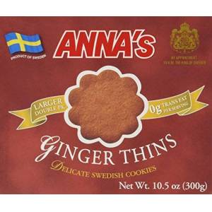 Anna's Galletas suecas delicadas Annas, 10.5 onzas (jengibre fino)