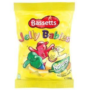 Bassett's Bassetts Jelly Babies Bolsa de 190 g, 2 unidades