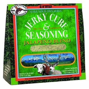 Hi Mountain Seasonings Hi Mountain Jerky Seasoning Mezcla de Jalapeño Haz tu propio kit de jerky