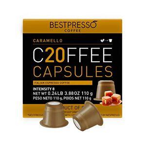 Bestpresso Cápsulas de café gourmet compatibles con Nespresso de , alternativa a las cápsulas de Nespresso:  Certificado original Espresso