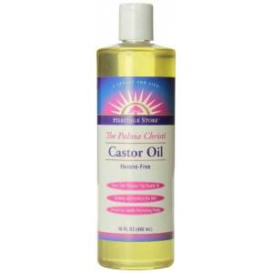 HERITAGE STORE Castor Oil, 16 Ounce