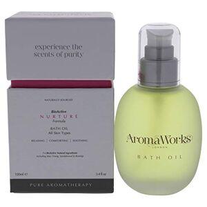 Aromaworks Nurture Oil for Unisex, Bath, 3.4 Ounces