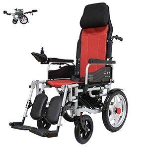 miaoss Silla De Ruedas Eléctrica Silla De Ruedas Plegable Silla De Ruedas Ajustable Ancianos, Discapacitados, Discapacitados 45 Kg