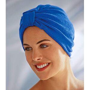 Fashy (Royal Blue)  Women's Apres Terry Cotton Turban