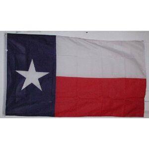 AES Texas Flag 3ft x 5ft- - 3x5 Texan Lone Star State Polyester flag - TX Flag