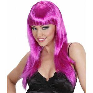 WIDMANN Beautiful Purple Wig for Hair Accessory Fancy Dress