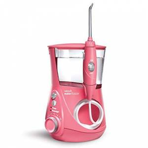 Waterpik Water Flosser Electric Dental Countertop Oral Irrigator For Teeth Aquarius Designer, WP-674 Pink