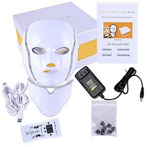 Inspire Goodlife Mascara facial LED 7 colores para rejuvenecimiento facial y del cuello, anti-edad, fototerapia.