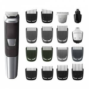 PHILIPS Norelco Multi Groomer MG5750/49 18 piece, beard, body, face, nose, and ear hair trimmer and clipper