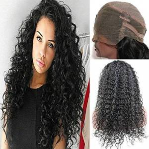 Dream Beauty Dreambeauty 360 peluca frontal de encaje pre plucked rizado 360 peluca de pelo humano de encaje completo pelo humano pelucas extra alta densidad 360 peluca de encaje con pelo de bebé para mujeres neg