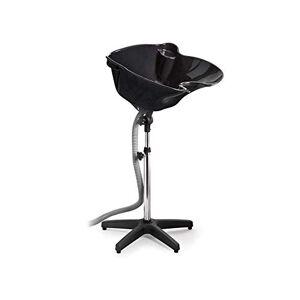 Risareyi Negro portátil de altura ajustable cuenca del champú del cabello tratamiento Tazón Salon herramienta mejor opción for el peluquero conveniente (Size : A)