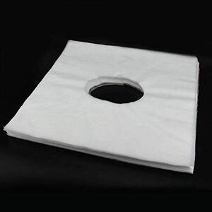 Fybida Tejidos para colchas de cama de masaje Cobertor de cama para tratamiento de spa Almohada de mesa para uso de SPA para peluquería para una mejor(WhiteSun hole towel)